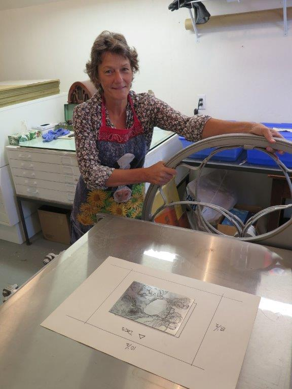 Sarah Cowley - etching 101