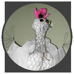 Sarah Cowley - Artist -Spring Chicken