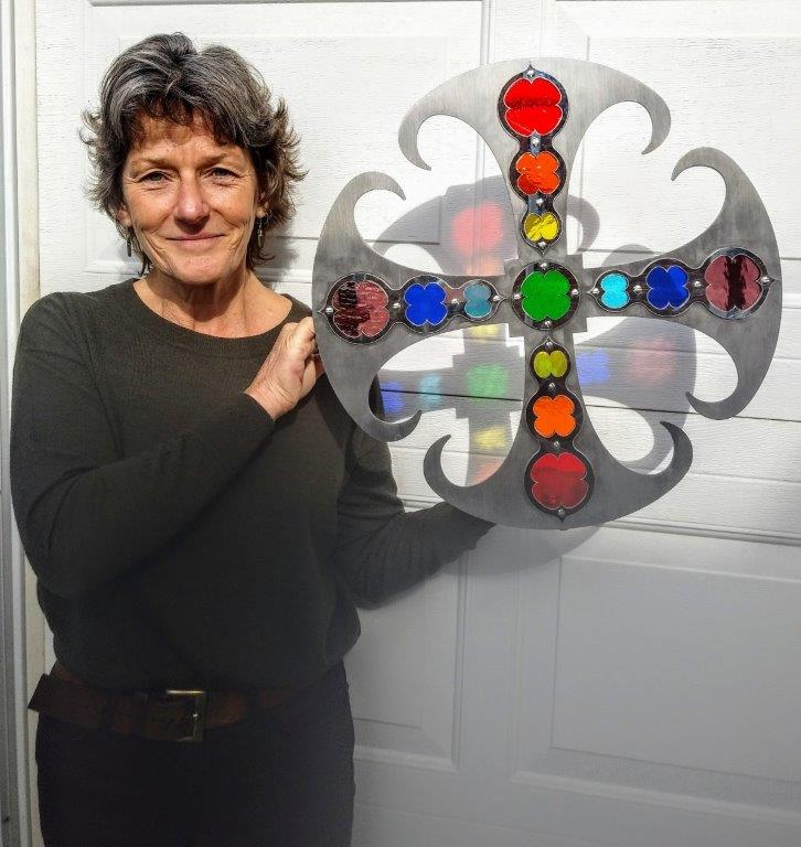Sarah Cowley - Sculpture Cross